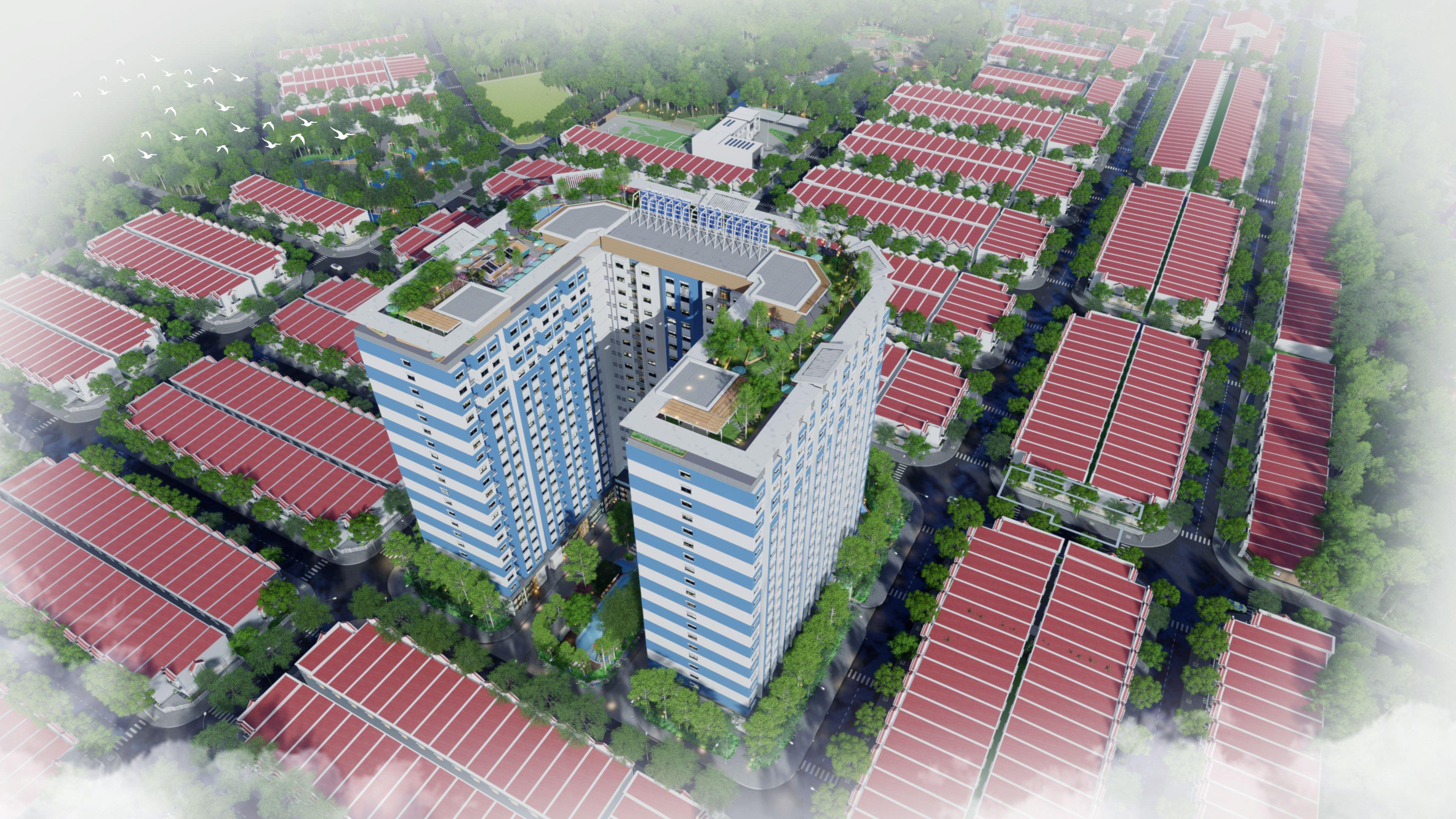 dự án thịnh gia tower là trái tim của khu đô thị thịnh gia