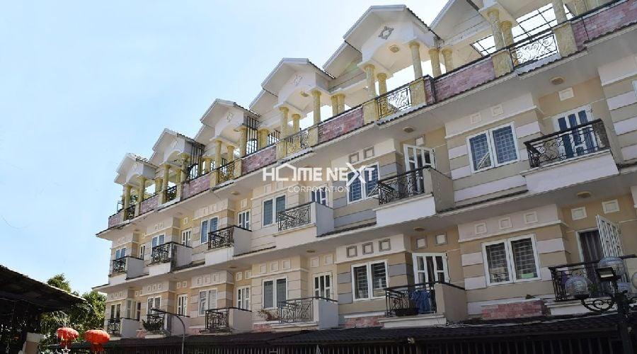 Ảnh thực tế dự án nhà phố Vạn Xuân An Lộc