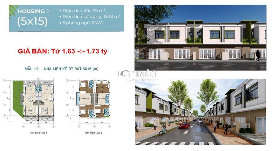 Housing 2 với diện tích 70m2