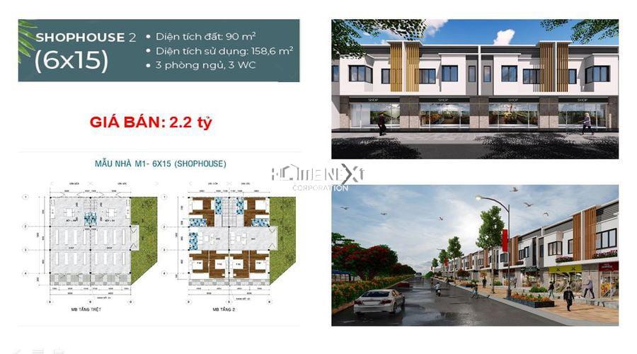 Housing 2 với diện tích 90m2