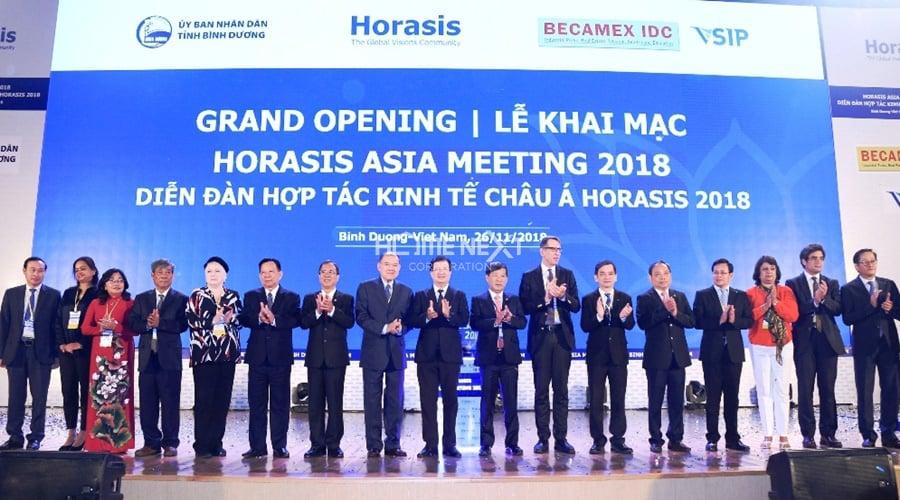 Sự kiện diễn đàn Horasis năm 2018 tại Bình Dương