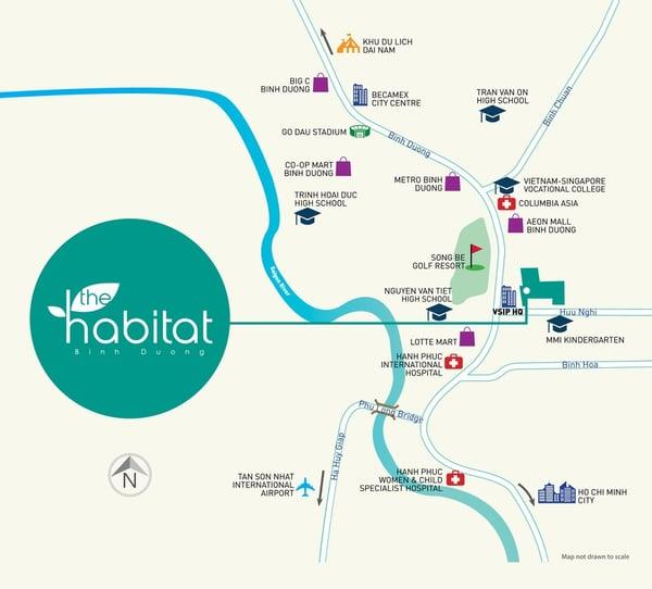 dự án căn hộ Bình Dương - the habitat