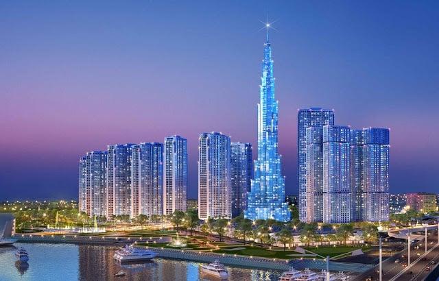 Toà tháp The Landmark HCM sắp được ra mắt