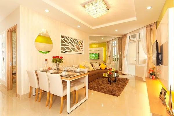 Giá bán căn hộ tiếp tục tăng