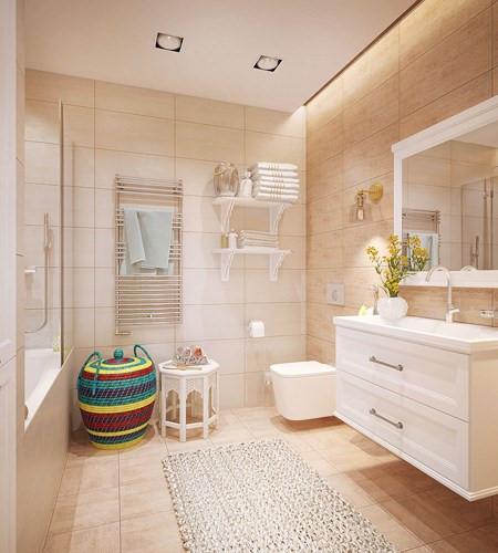 thiết kế nhà ở phòng tắm