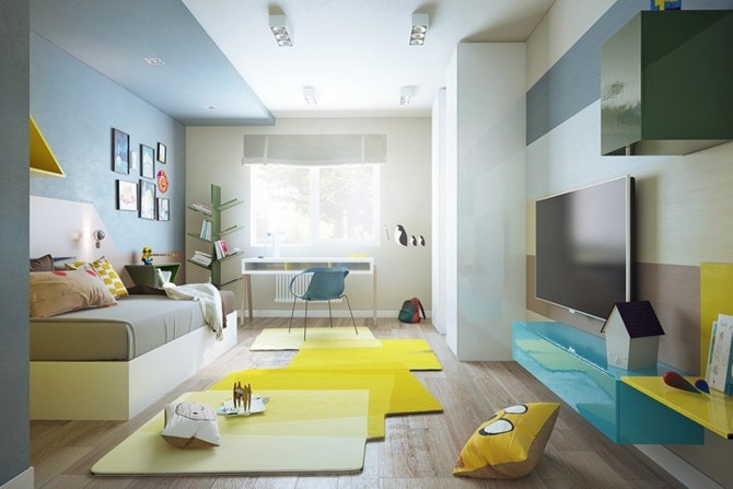 những mẫu thiết kế nội thất ấn tượng