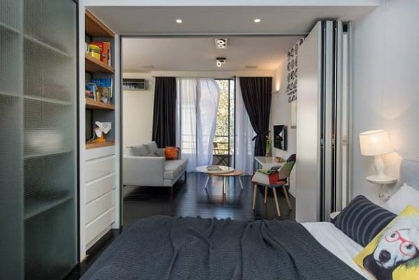 Thiết kế nội thất cho căn hộ nhỏ