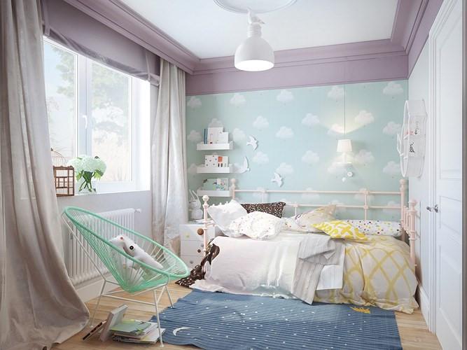 thiết kế nhà ở phòng trẻ sơ sinh