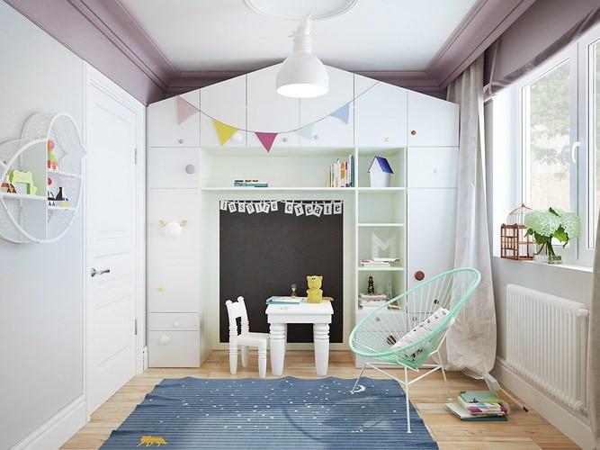 thiết kế nhà ở phòng trẻ em