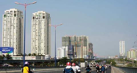 Bất động sản trung tâm TP.HCM gặp khó vì giao thông