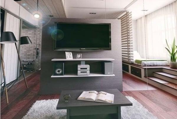 thiết kế không gian cho căn hộ nhỏ