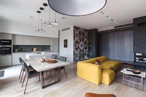 Cách sử dụng nội thất độc đáo trong căn hộ hiện đại - Ảnh 1.