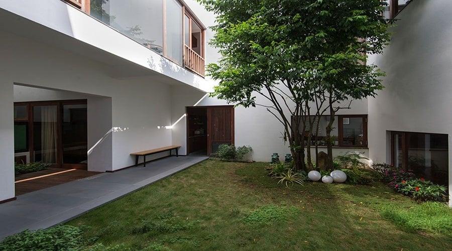Không gian xanh nhà Nha Trang