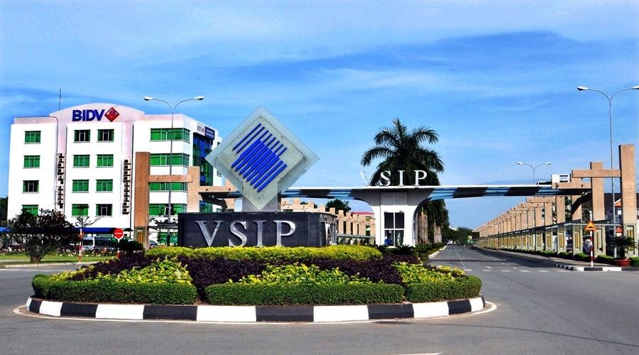 Khu công nghiệp VSIP  tại bất động sản Thuận An