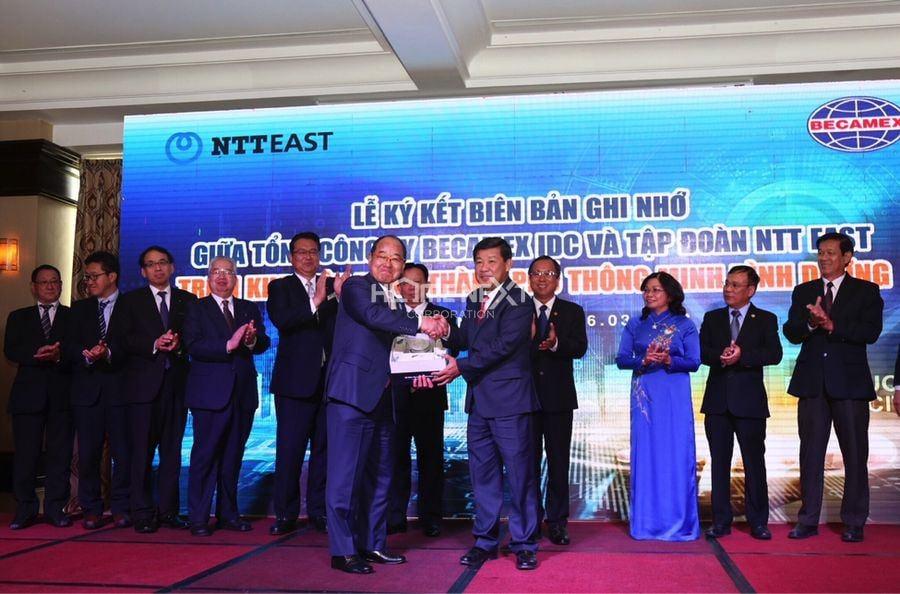 Liên doanh giữa Becamex IDC và tập đoàn NTT Nhật Bản