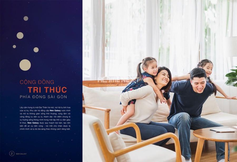 Dự án New Galaxy sở hữu vị trí đắc địa ngay mặt tiền đường Thống Nhất thành phố Dĩ An với hàng loạt các tiện ích nội ngoại khu vô cùng thuận tiện cho cư dân sinh sống tại căn hộ New Galaxy Dĩ An. Dự án đầy sự trẻ trung, hiện đại và năng động phù hợp với thế hệ vàng (9X) của đất nước.