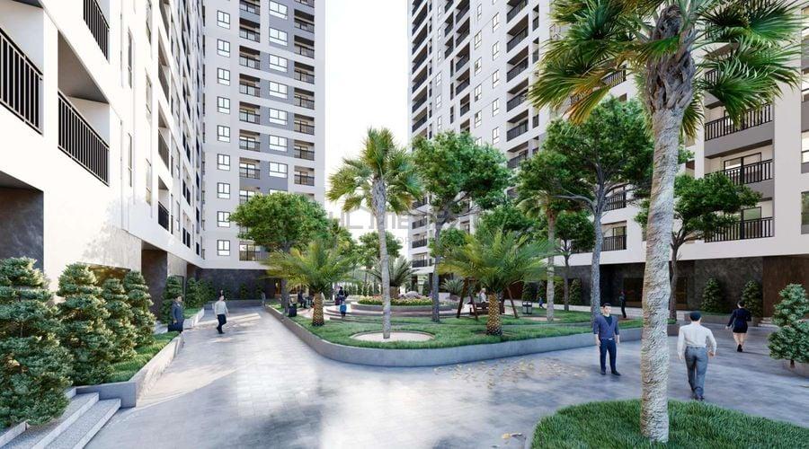 Công viên cây xanh cho cư dân của dự án