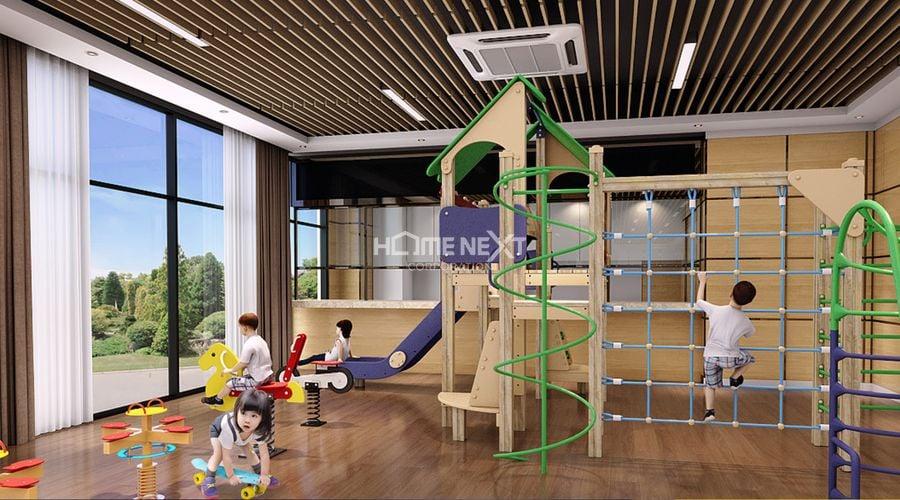 Phối cảnh sân chơi trẻ em tại dự án Tecco Home An Phú