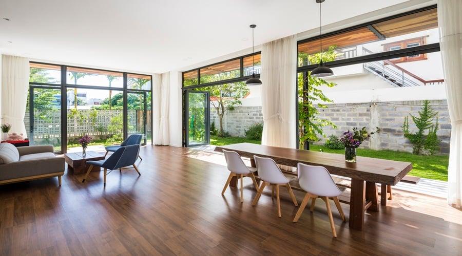 Phòng khách căn hộ Nha Trang