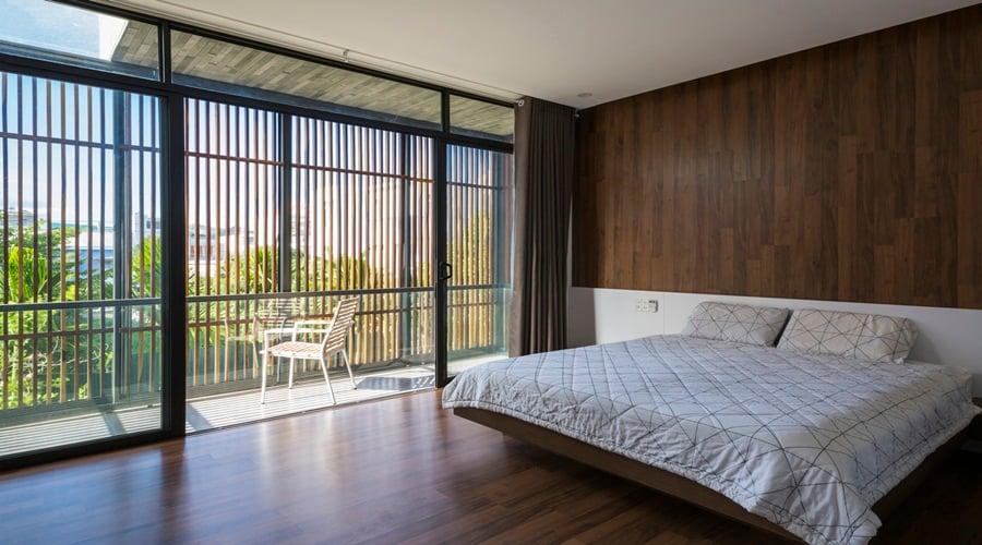 Phòng ngủ căn hộ Nha Trang