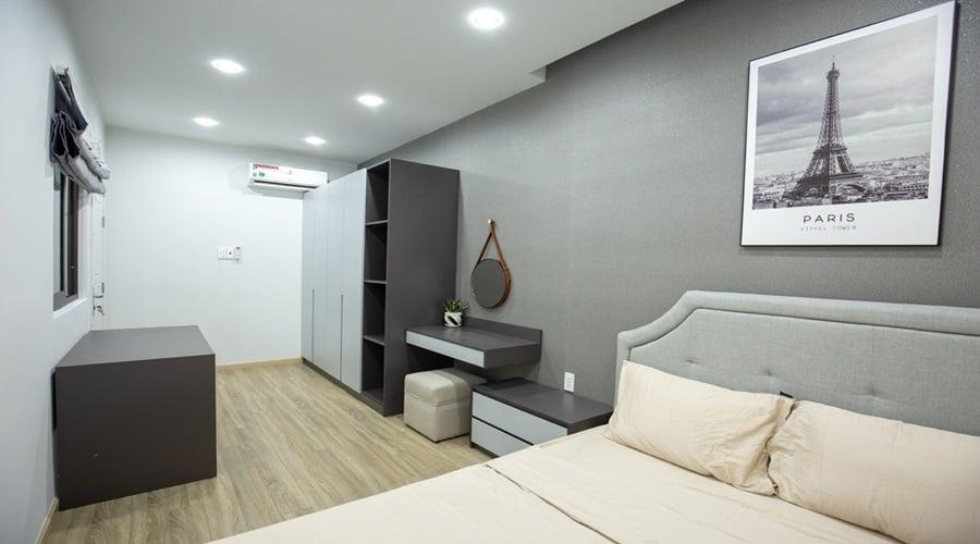 Phòng ngủ nhà mặt tiền 2 tầng đẹp