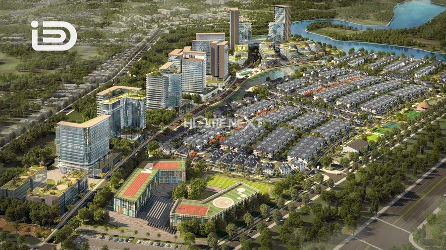 Phối cảnh dự án khu đô thị ID Junction