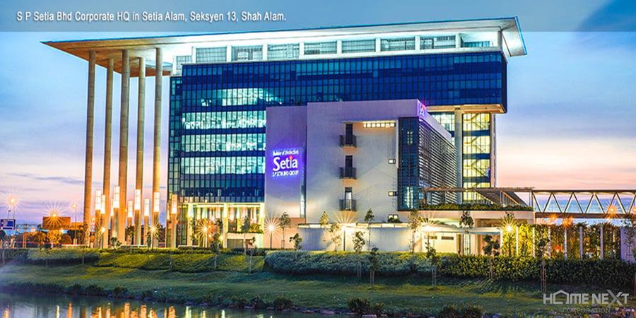 Trụ sở chính của Tập đoàn SP Setia ở Malaysia