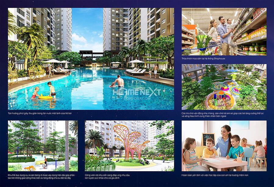 Gói trọn các dịch vụ và tiện ích đa dạng, New Galaxy Bình Dương tiên phong xây dựng một tiêu chuẩn sống thông minh, thời thượng tại thành phố phía Đông Sài Gòn, là xứ sở của cuộc sống hiện đại, dẫn dầu xu hướng tương lai.