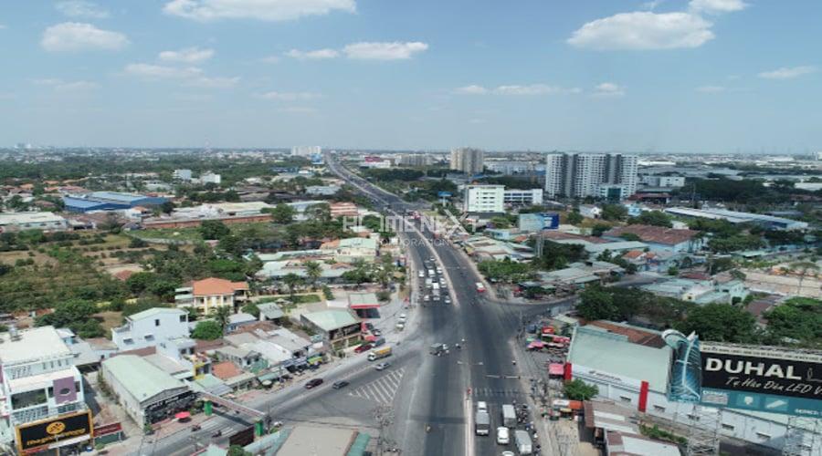cơ sở hạ tầng tại Thuận An