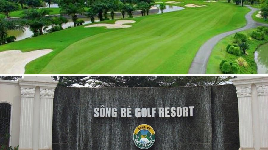 Sân golf Sông Bé Bình Dương