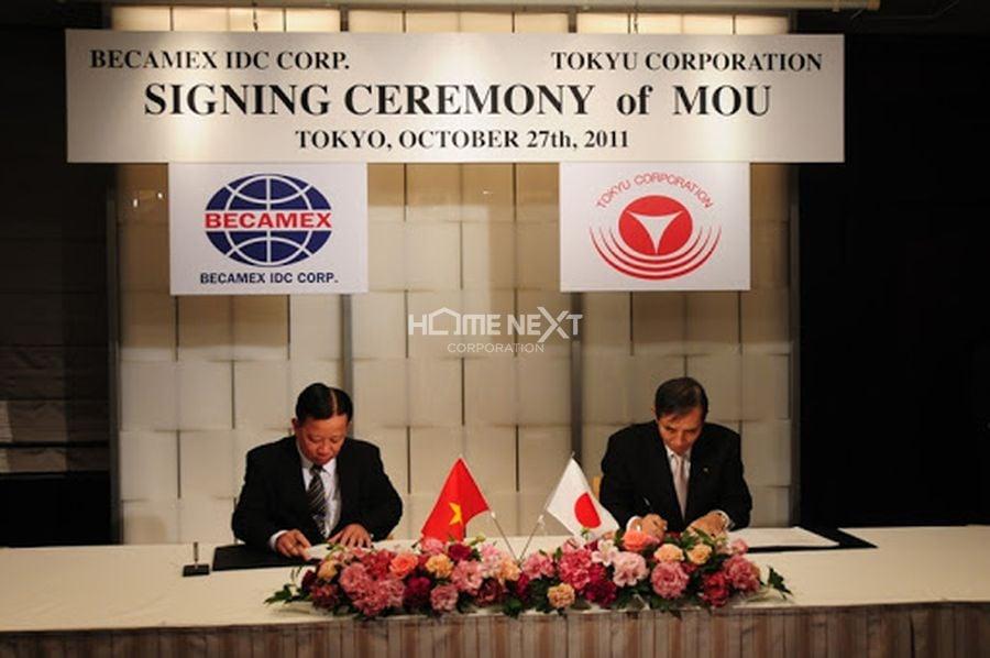 Sự kiện Tập đoàn Tokyu (Nhật Bản) hợp tác với Becamex IDC
