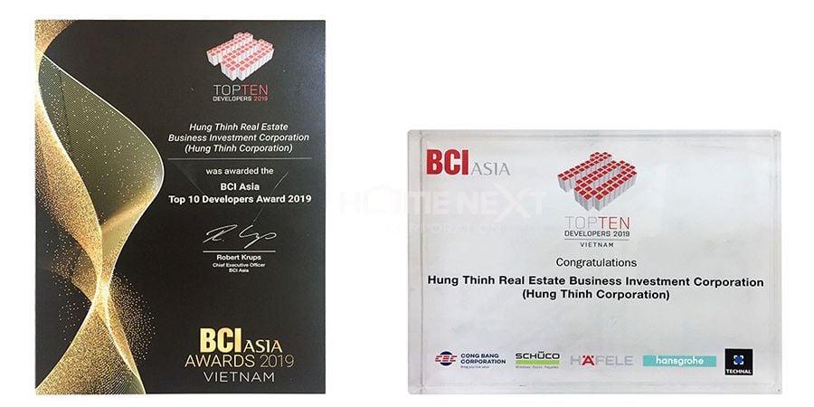 Hưng Thịnh Group lọt top 10 Nhà đầu tư hàng đầu Việt Nam 2019