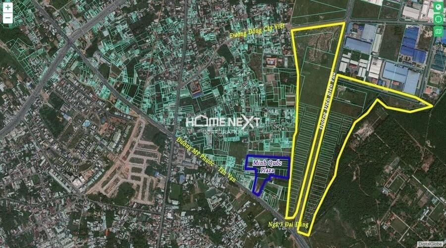 dự án căn hộ chung cư Minh Quốc Plaza