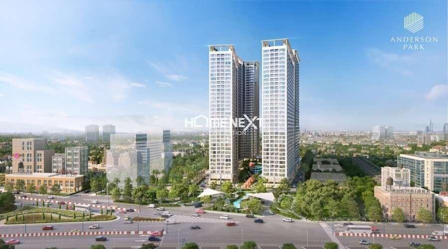 Phối cảnh dự án chung cư Anderson Park Thuận An