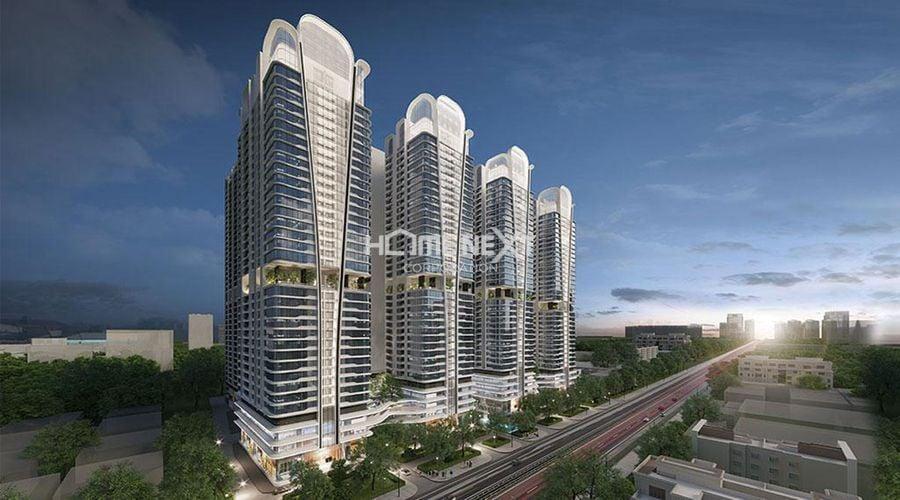 Phối cảnh dự án căn hộ cao cấp Astral City Bình Dương