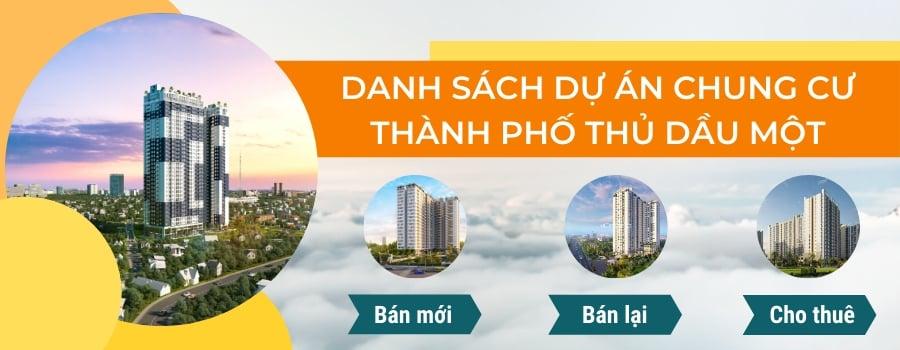 dự án chung cư thành phố Thủ Dầu Một