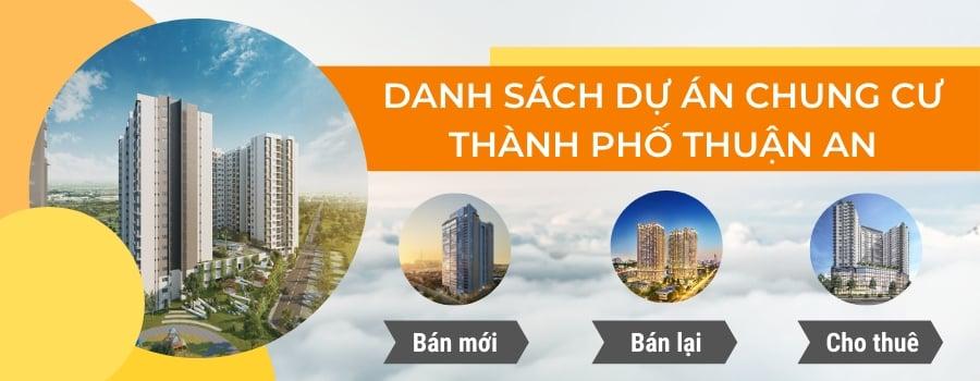 dự án chung cư thành phố Thuận An