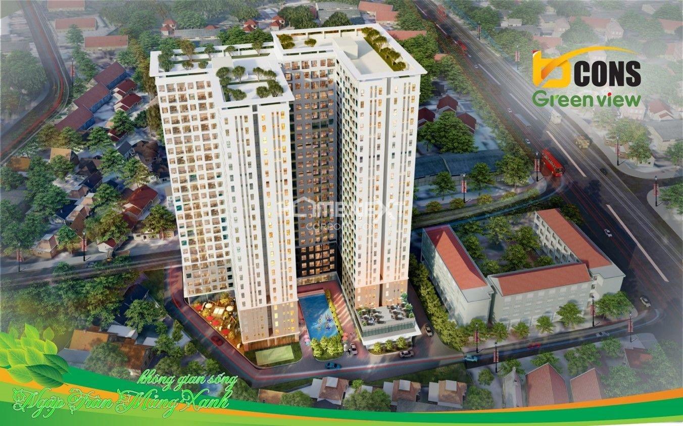 Dự án căn hộ Bcons Green View Dĩ An