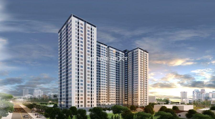 Phối cảnh dự án căn hộ Bcons Miền Đông