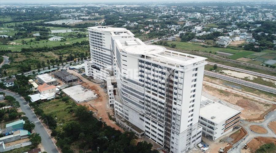 Bệnh viện 1500 giường chuẩn bị đi vào hoạt động