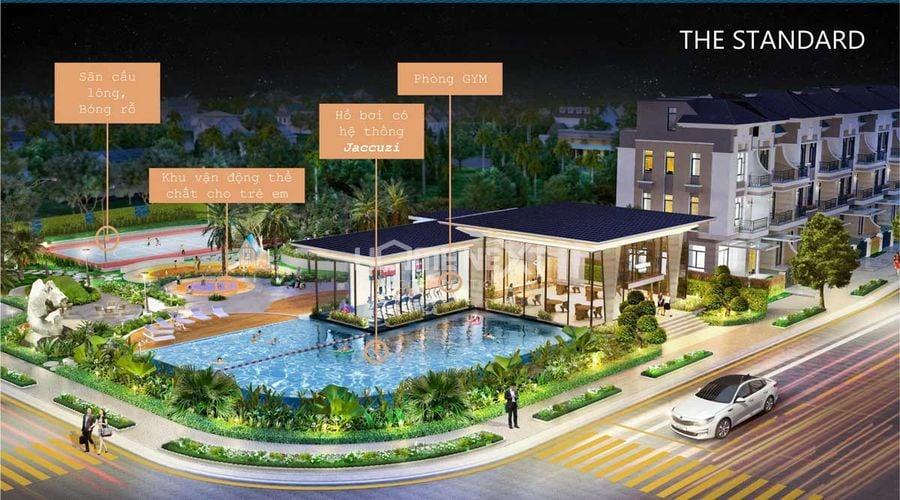Tiện ích nội khu dự án nhà phốStandard An Gia