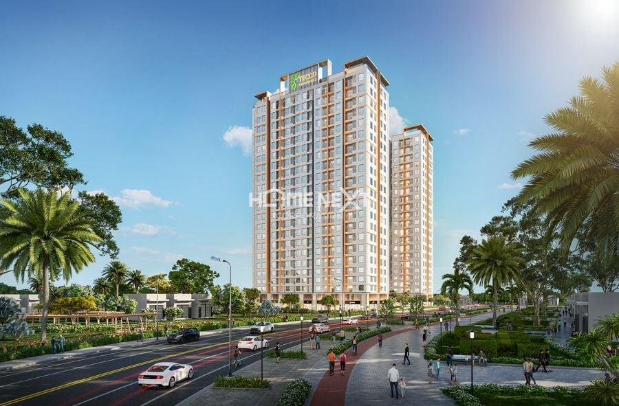 Phối cảnh dự án Tecco Felice Homes Thuận An