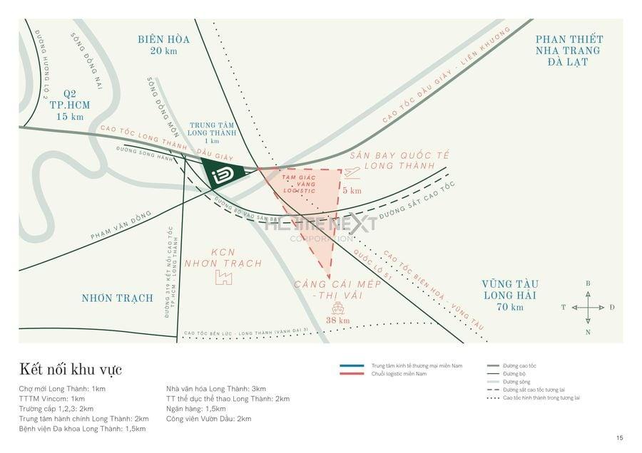 Vị trí dự án khu đô thị ID Junction Tây Hồ