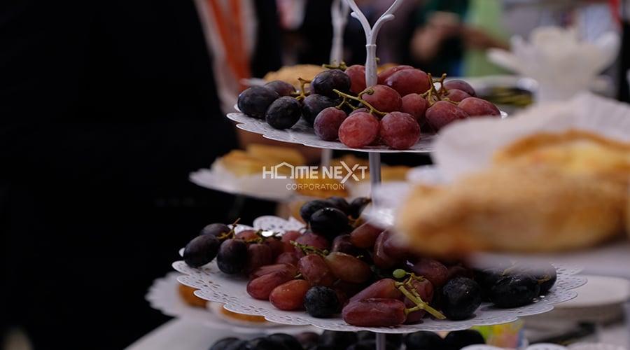 Những món khai vị ngon miệng phục vụ cho khách hàng khi đến sự kiện