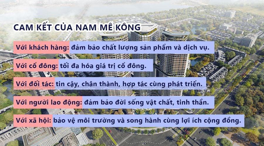 Cam kết của tập đoàn Nam Mê Kông