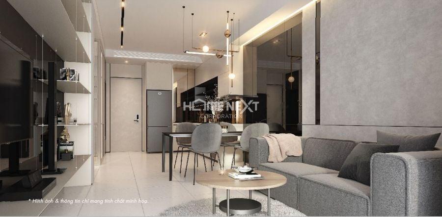 Thiết kế căn hộ 1 PN - 1 WC tại dự án Astral City