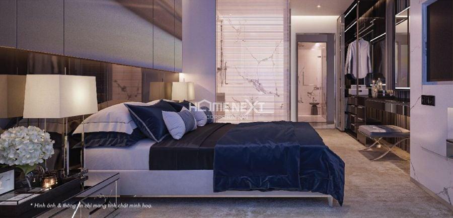 Phòng ngủ Master Astral City sang trọng, chuẩn khách sạn 5 sao