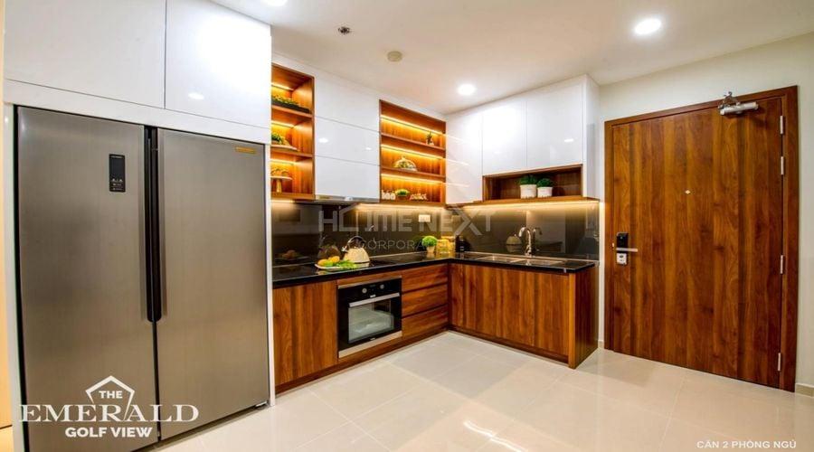 Thiết kế bếp mở thuận tiện cho việc di chuyển