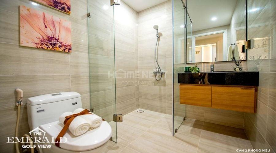 Phòng tắm căn 2 phòng ngủ