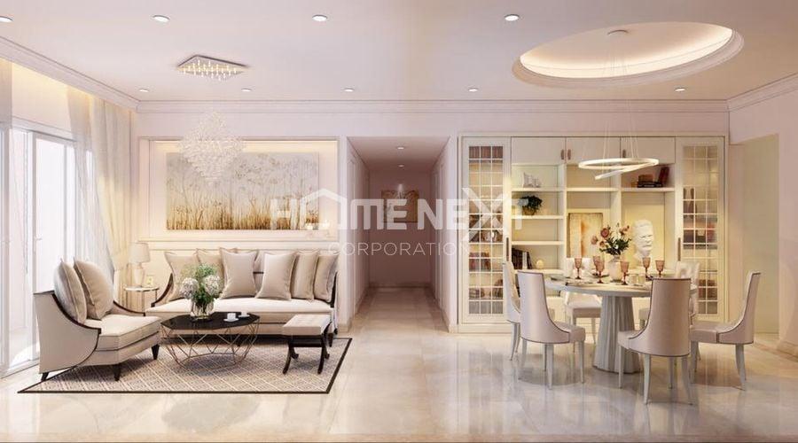 Thiết kế căn hộ cao cấp hạng sang tại Phú Mỹ Hưng Bình Dương